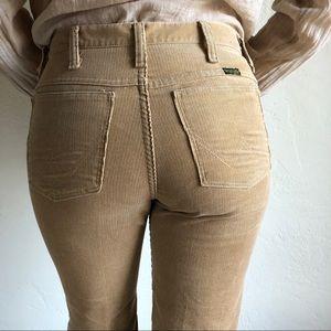 ef0ae2ae Wrangler Pants - [vintage] wrangler camel corduroy flare pants
